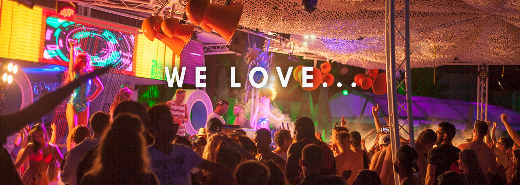 We Love …