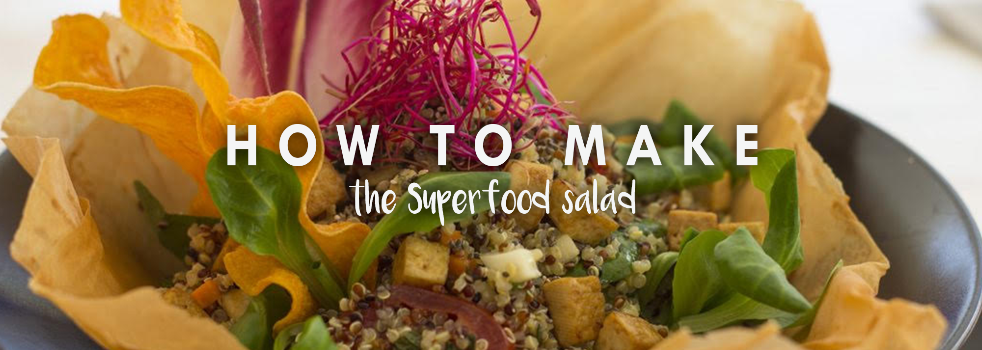 How To Make The Ocean Beach Superfood Salad